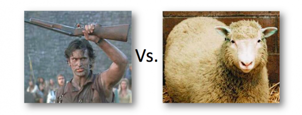Zombie vs Sheep
