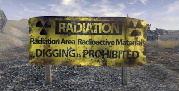 Radiation no digging